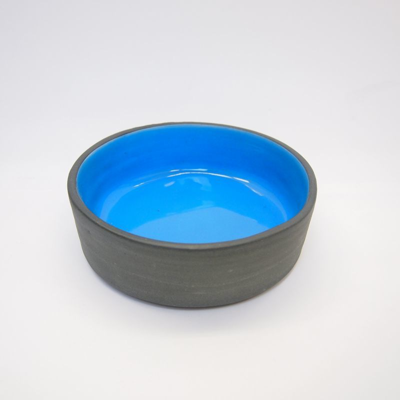 Ware of the Dog  Dog Bowl Aqua Size M