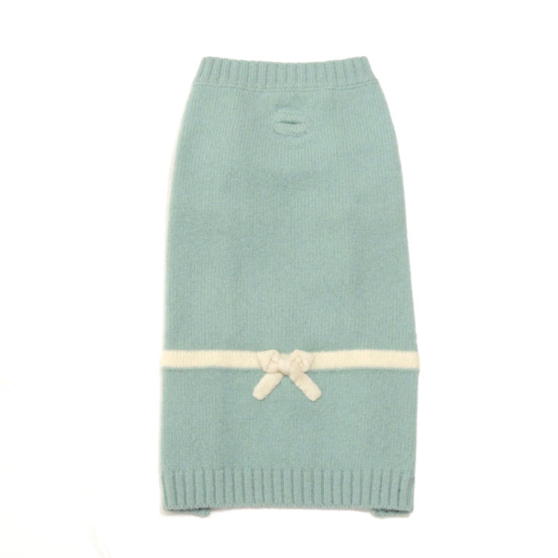 Ware Of The Dog  Bow Sweater/Lt.Blue