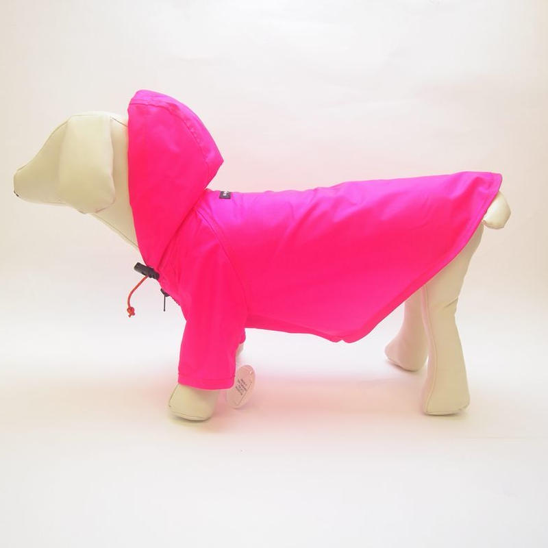 wagwear Nylon Rainbreaker neon pink size16-20