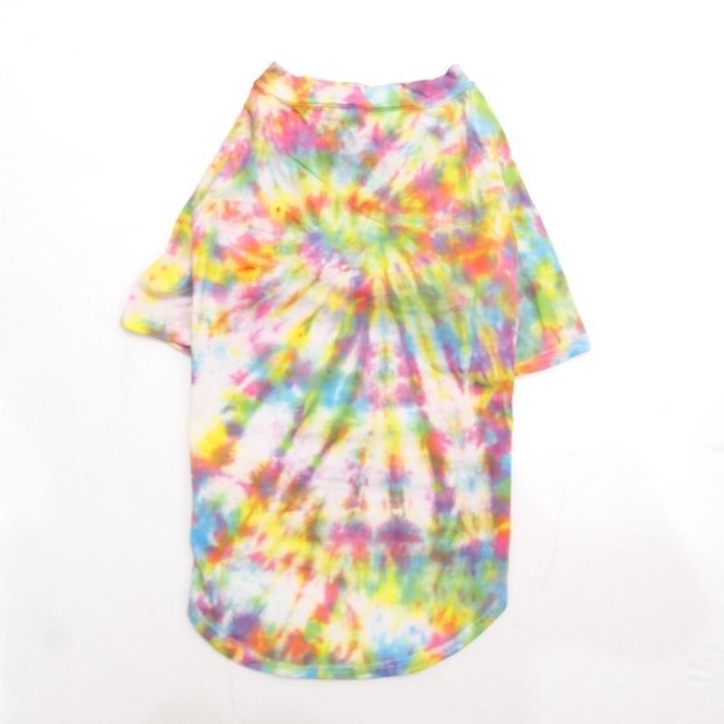"wagwear Catskills Indigo Tie-Dyed T-Shirt  16"" 01"