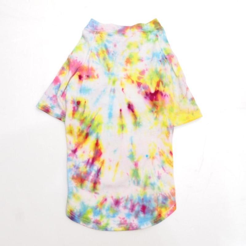 "wagwear Catskills Indigo Tie-Dyed T-Shirt  14"" 01"