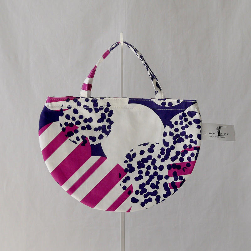 MINI R TOTE            -SOUFFLE- (PURPLE)