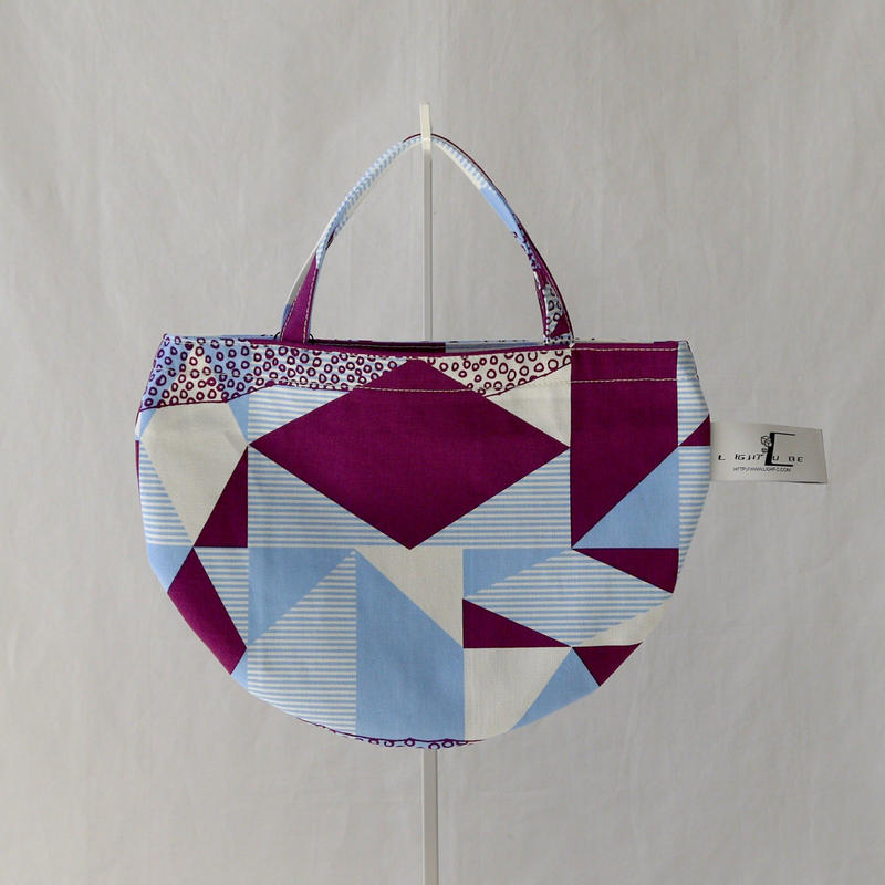 MINI R TOTE            -DESERT OASIS- (PURPLE)
