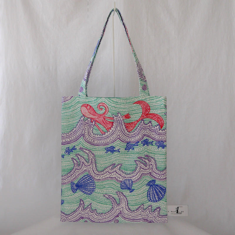 LC TOTE            -LITTLE OCEAN- (EMERALD GREEN)