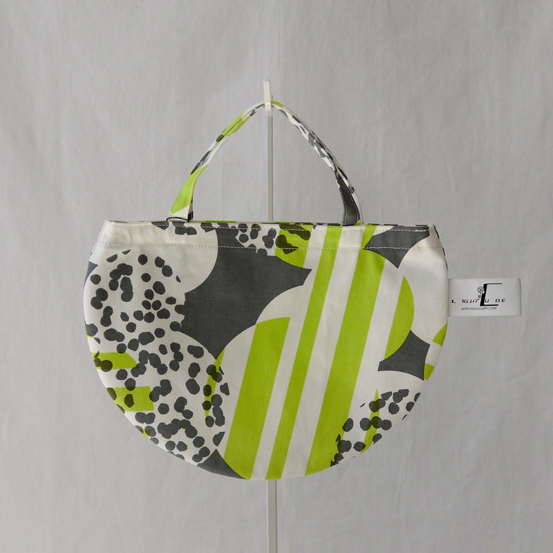 MINI R TOTE            -SOUFFLE- (GREEN)