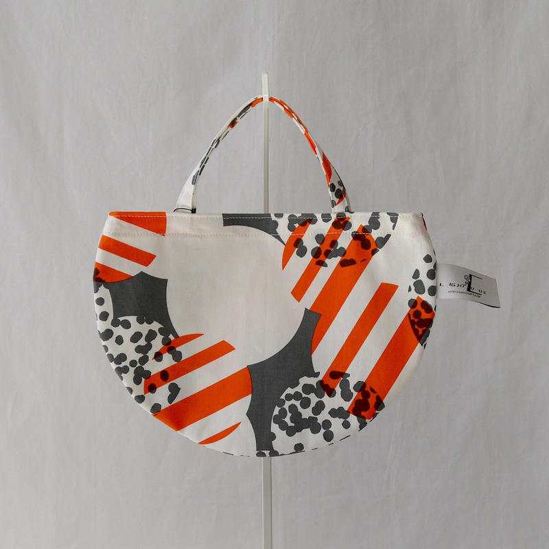 MINI R TOTE            -SOUFFLE- (ORANGE)