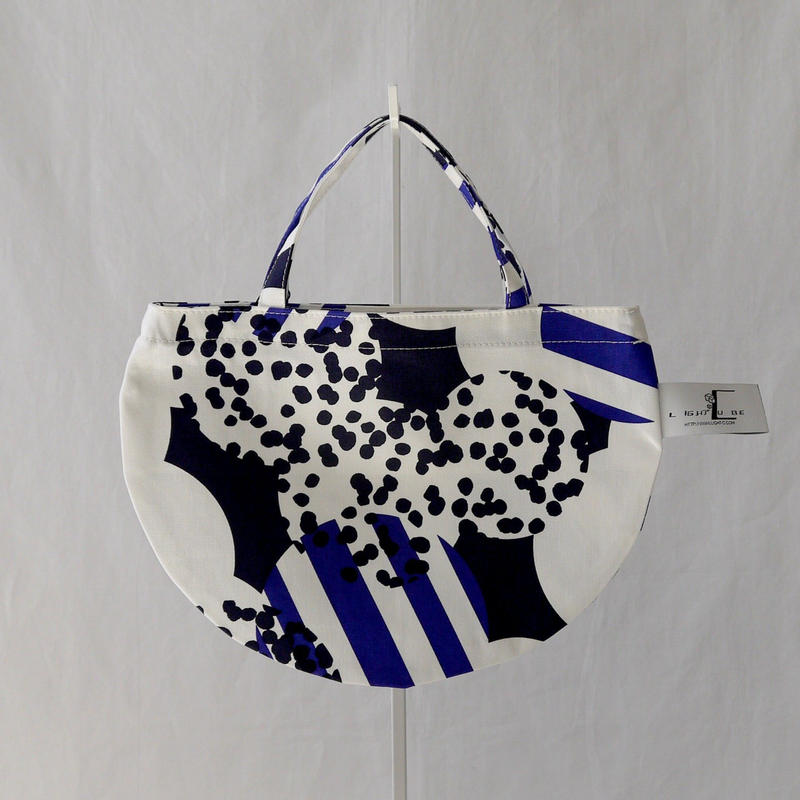 MINI R TOTE            -SOUFFLE- (BLUE)