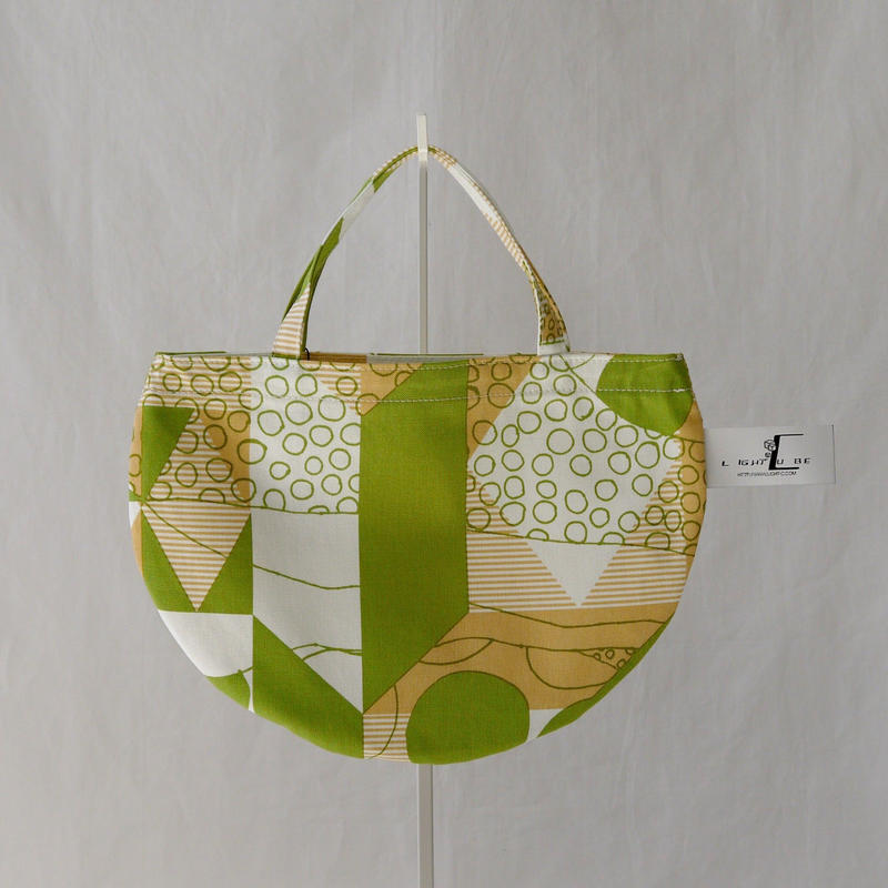 MINI R TOTE            -DESERT OASIS- (GREEN)