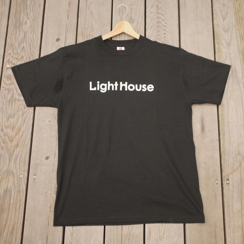Lighthouse LOGO T-shirt Black