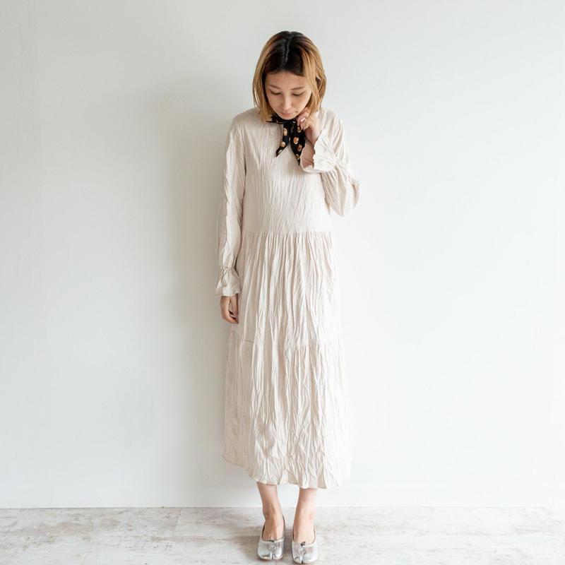 【Days デイズ】長袖ロングワンピース     op0013  春