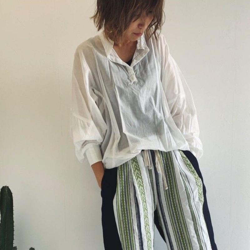 【kittle キトル】袖リブロングブラウス    c0045