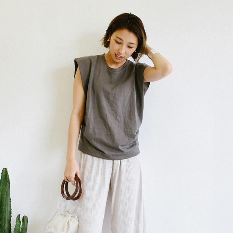 フレンチスリーブTシャツ  c0051