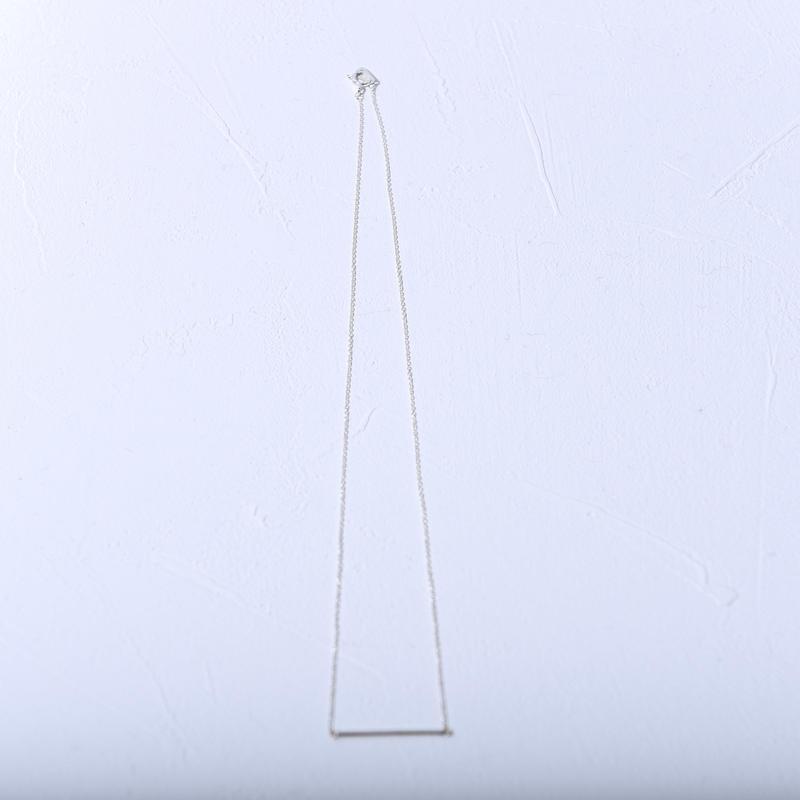 小ぶりシルバー925ネックレス  a0016