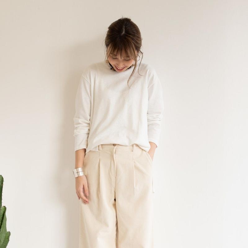 【Days デイズ】スリットロングTシャツ    c0044