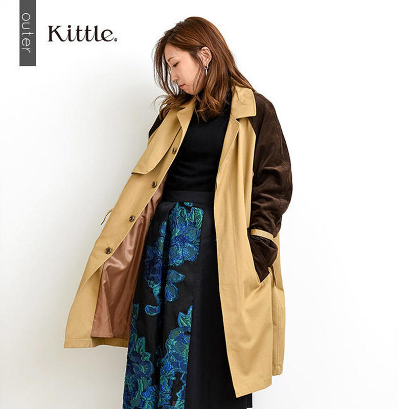 【kittle. キトル】トレンチコート   o0001