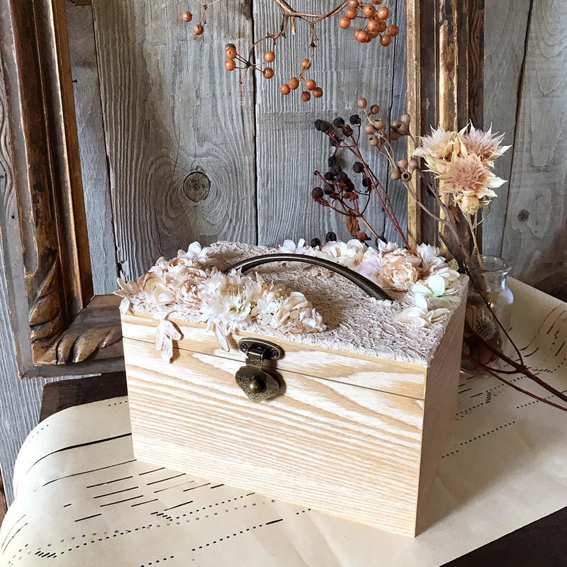 お花いっぱいのお道具箱セット*