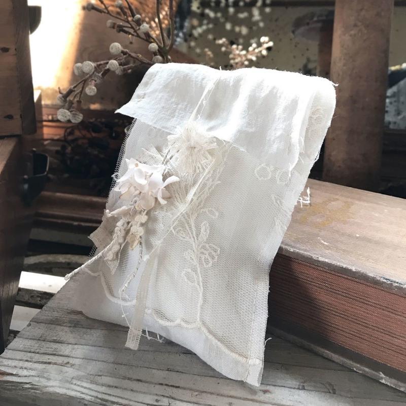 スズランレースのギフト袋(小)