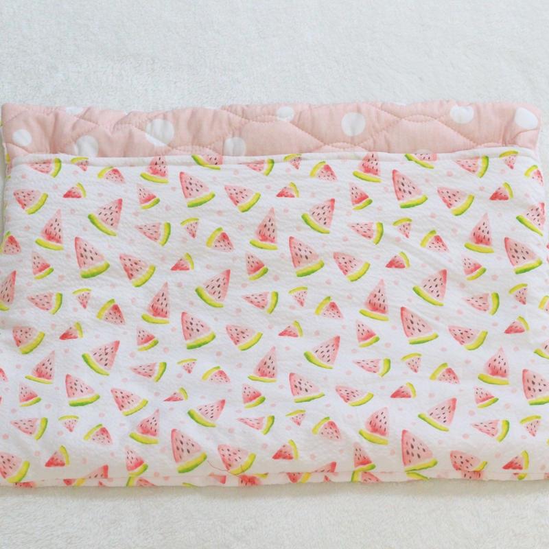 冷感キルト寝袋Lサイズ◆すいか