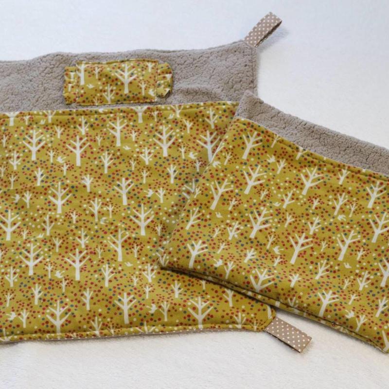 【オーダー】ボア布団ハンモックLサイズ・寝袋Mサイズ