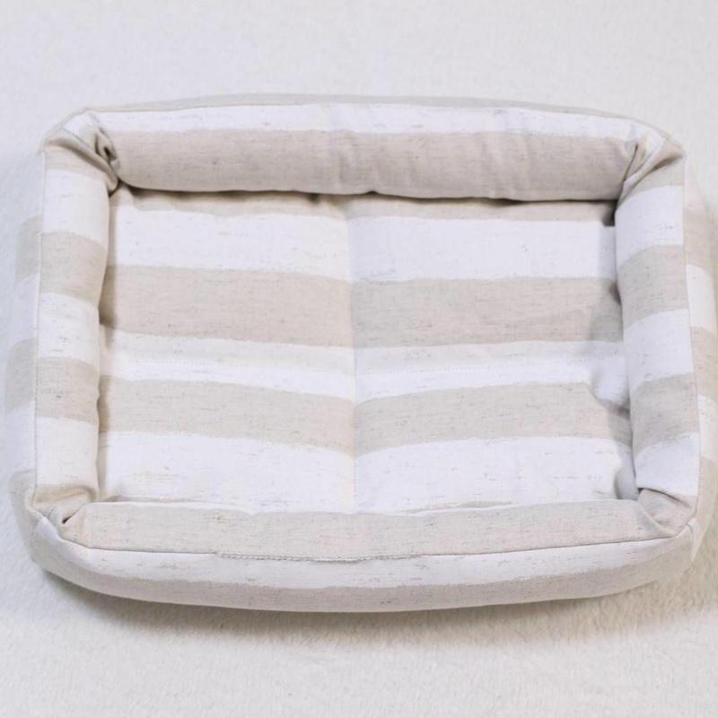 丈夫な帆布のベッドMサイズ◆ボーダー