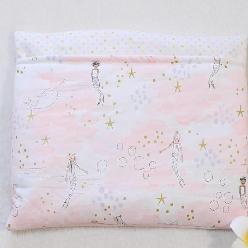 綿入り寝袋Mサイズ☆Littlemermaid pink