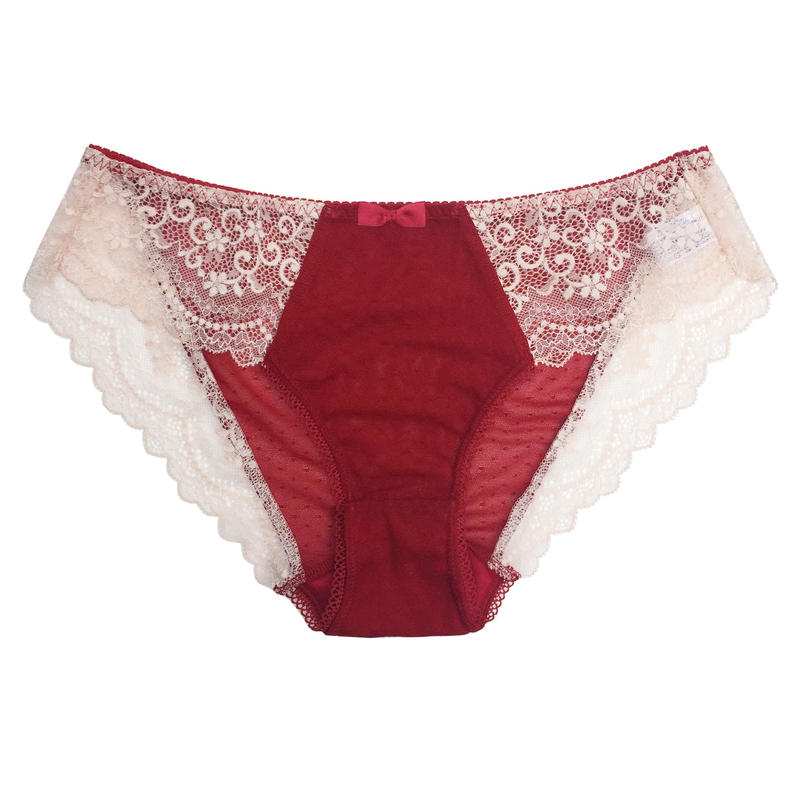 Floral Red Bikini