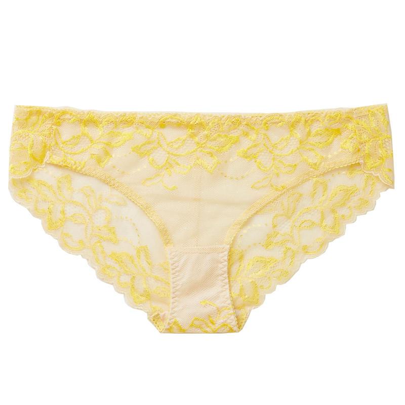 Dahlia Yellow Bikini