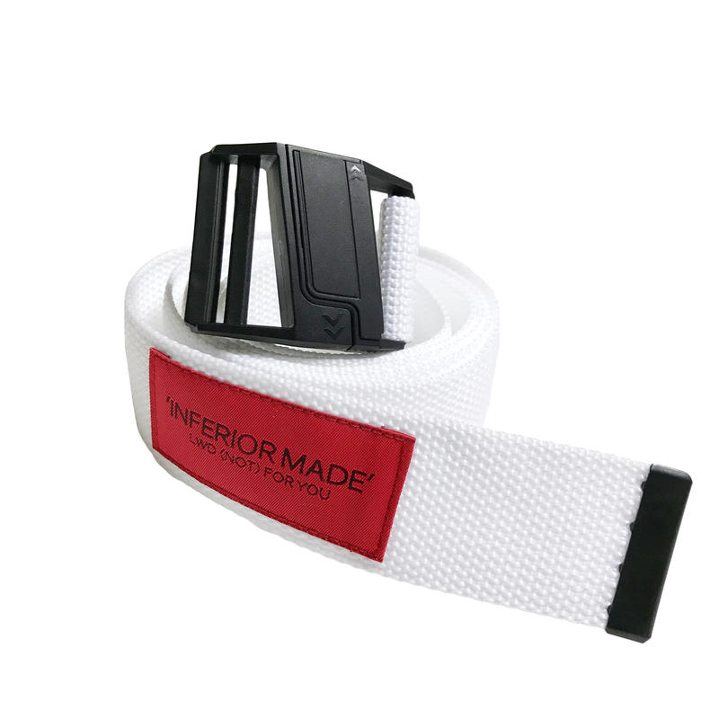 -ATTRACTED- EXTRA LONG BELT (WHT)