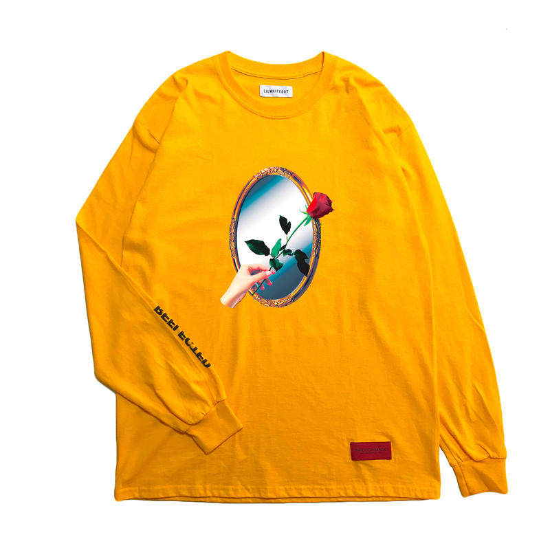 -REFLECTED- L/S TEE (ORG)