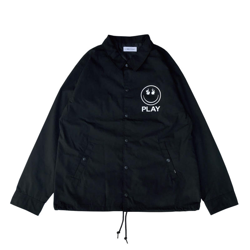 """PLAY"" COACH JKT (BLK)"