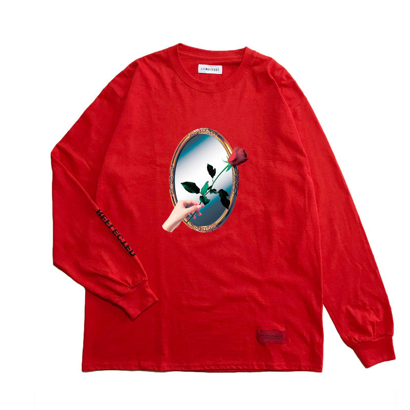 -REFLECTED- L/S TEE (RED)