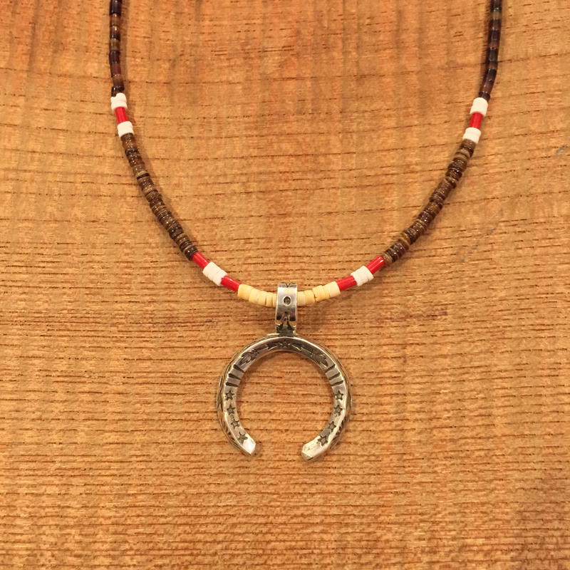 【ERICKA NICHOLAS BEGAY】タイプC 2.5TASNJ3.7 pendant top w beads necklaces
