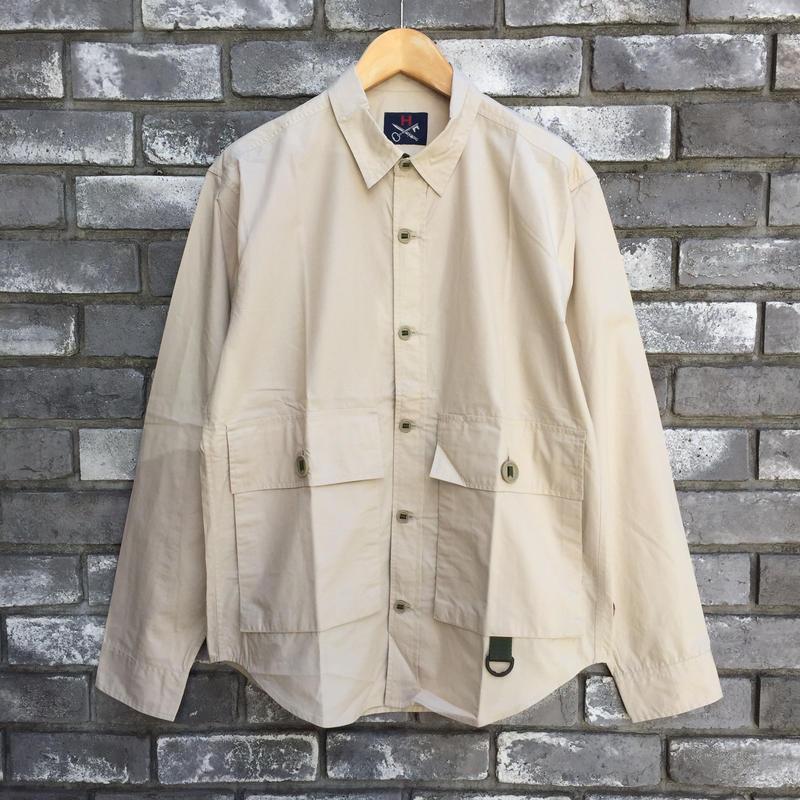 【HAWKWOOD MERCANTILE】Peninsura Ventile Over Shirt ホークウッド メルカンタイル  ベンタイル オーバーシャツ