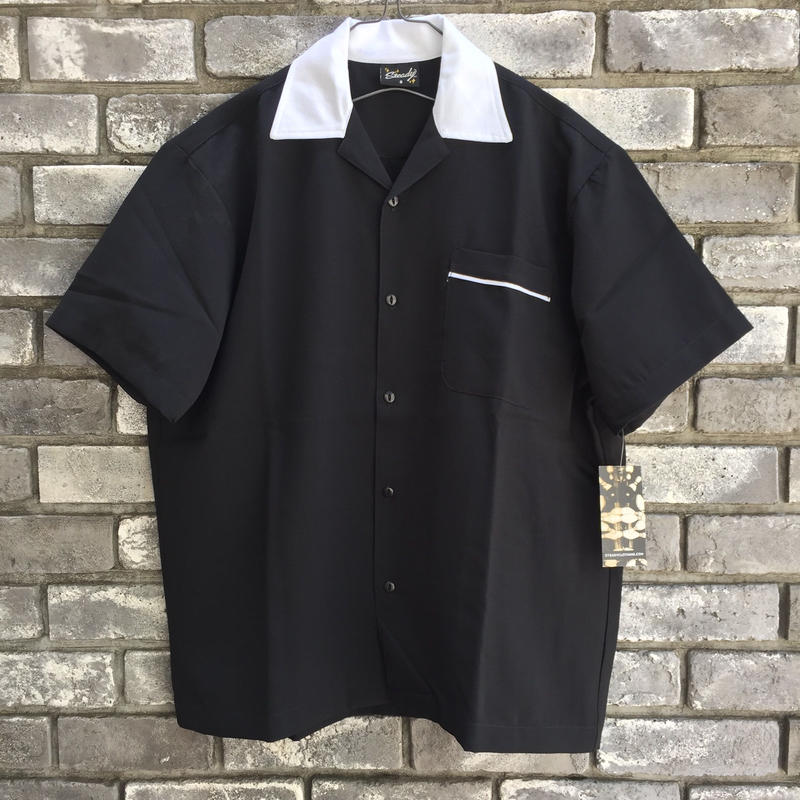 【STEADY CLOTHING】 Bowling Shirt one Pocket  ステディ クロージング ボーリングシャツ ポケット