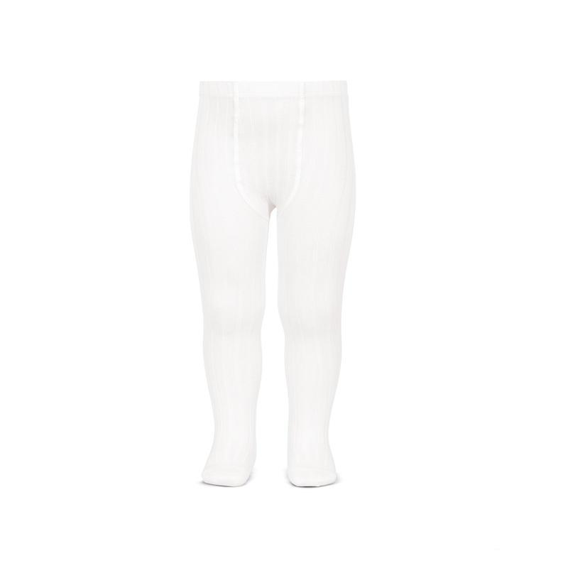 【Condor】 リブタイツ 200(Blanco) ホワイト (サイズ0才・2才)