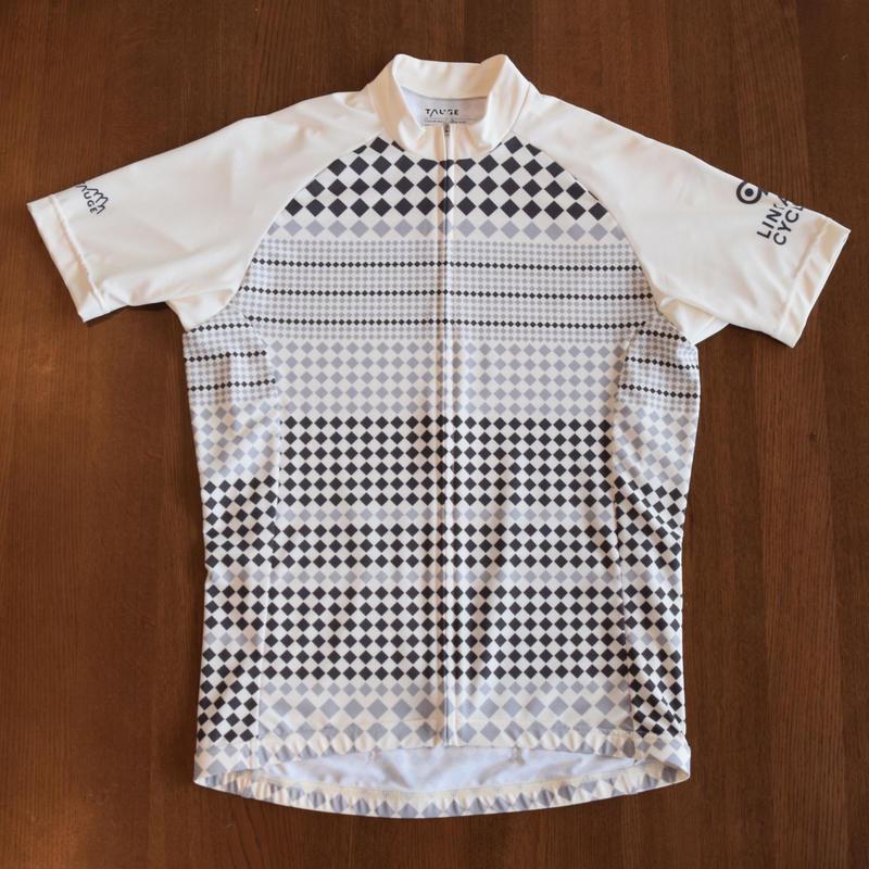 サイクリングジャージ LCT3 white