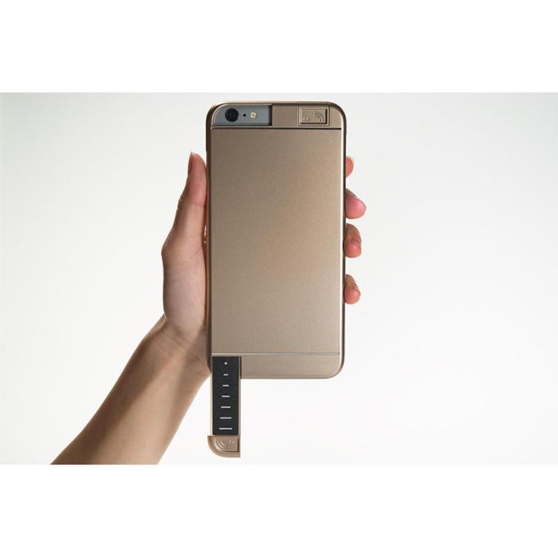 LINKASE PRO for iPhone 6 Plus ゴールド・4G/3Gシグナル拡張iPhoneケース