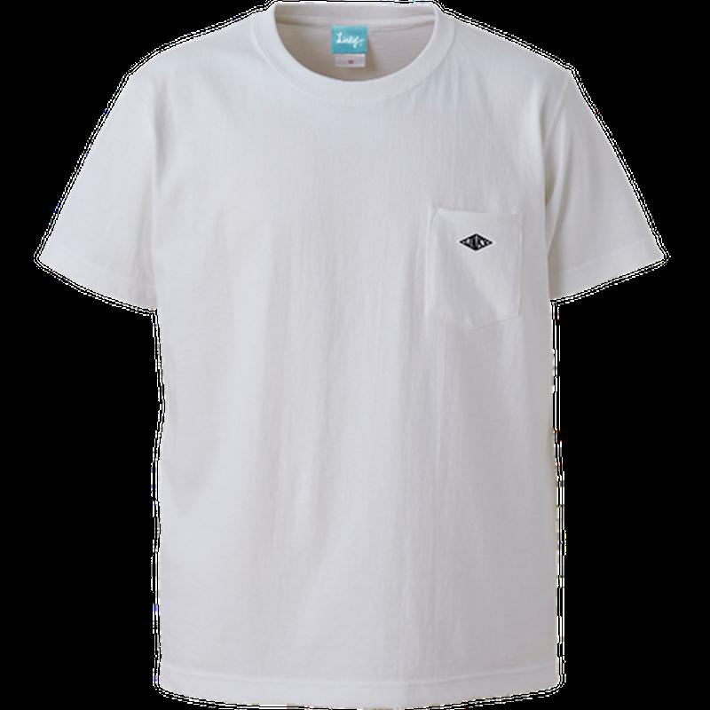 Wappen Pocket T-shirt (White×Black Wappen) <<WEB STORE限定>>