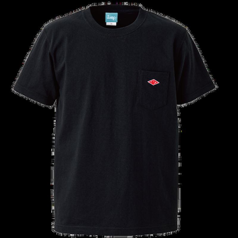 Wappen Pocket T-shirt (Black×Red Wappen) <<WEB STORE限定>>