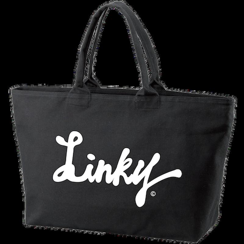 LINKY LOGO Big Toto Bag  (Black)