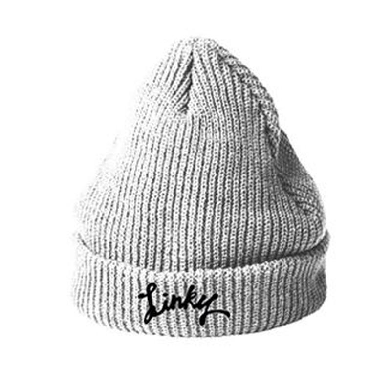 LINKY Logo Knit-Cap(Gray)