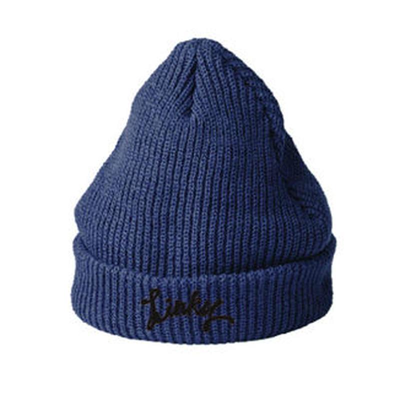 LINKY Logo Knit-Cap(Navy)