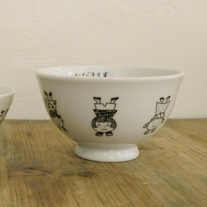 【tomopecco】〈逆立ち〉   茶碗・大