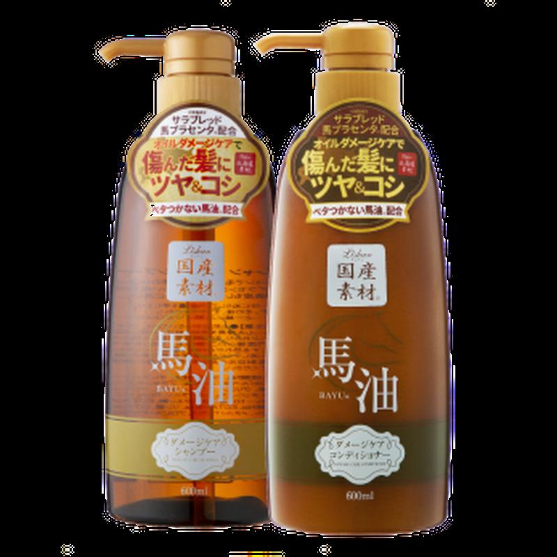 リシャン 馬油シャンプー・コンディショナー (エレガントフローラルの香り)