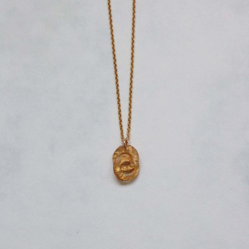 Musica 2 donut Necklace