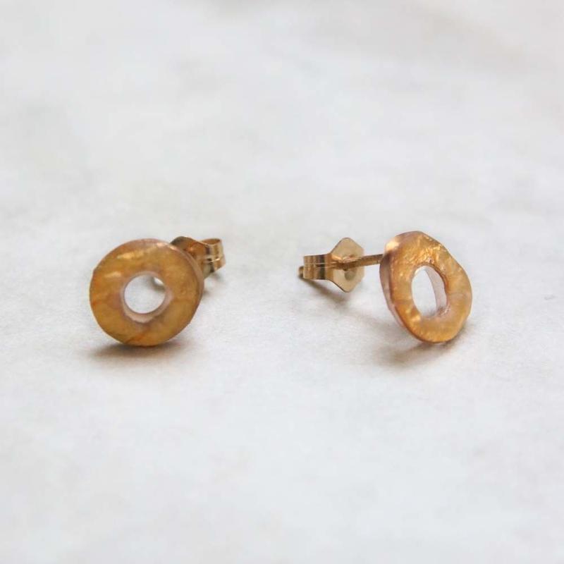 Musica donut studs earrings