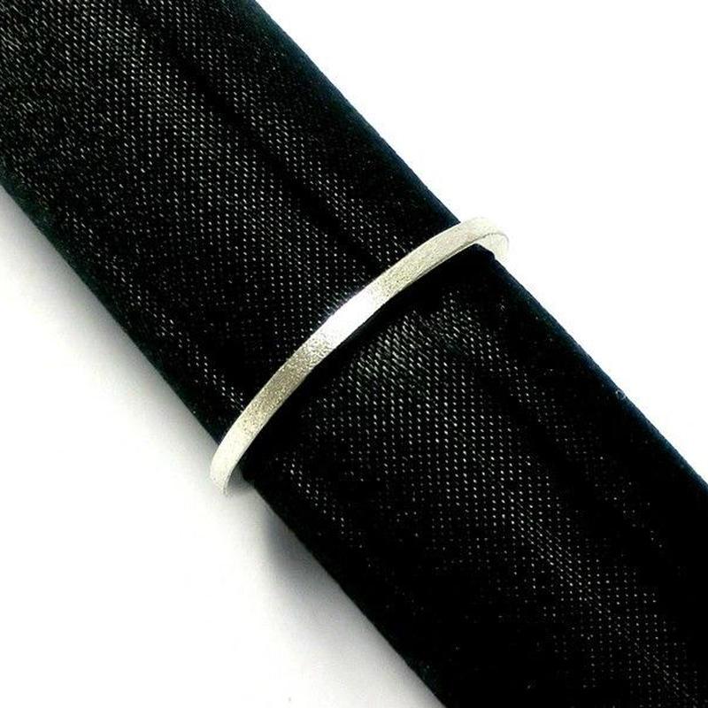 キラキラシルバーリング 1.5mm幅