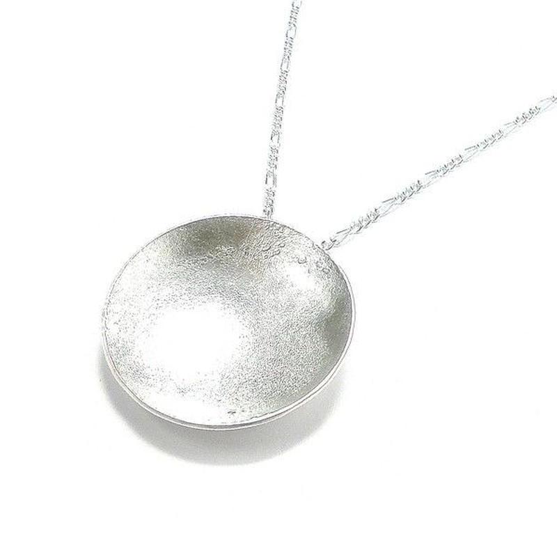 銀色の満月 1点ものシルバーネックレス  Ⅱ