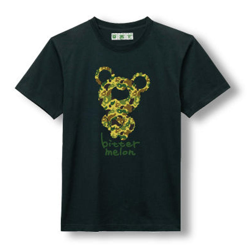 t-shirts(camoufla green×black)