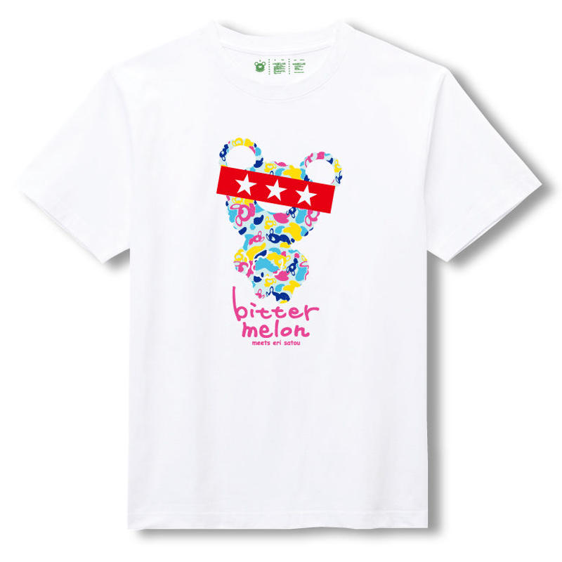 t-shirts(eri sato vitamin×white)